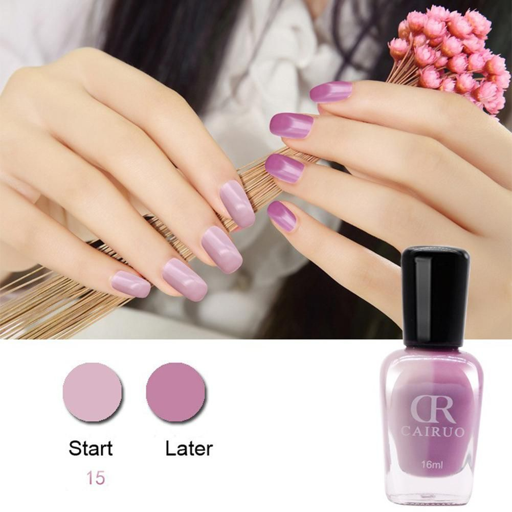 16ML CR Brand Temperature Change Chameleon Makeup Non Toxic LED UV ...