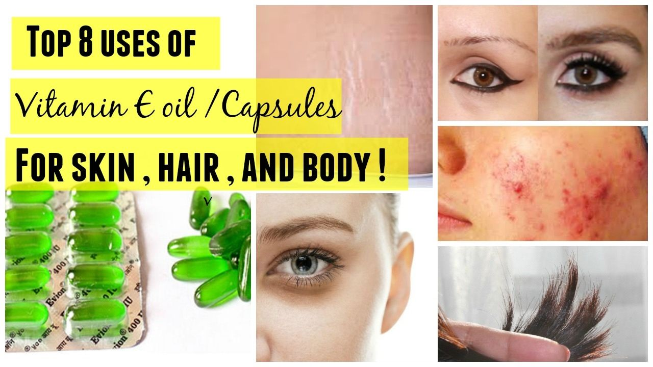Top 8 Uses Of Vitamin E Capsules For Skin Hair And Body I Benefits Of Vitamin E Capsules Vitamin E Capsules Uses Vitamin E