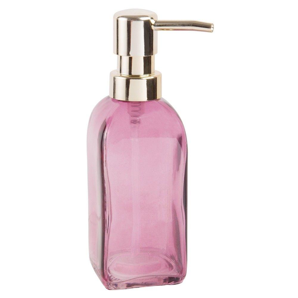 seifenspender aus glas rosa get nt maisons du monde maisons du monde soap dispenser. Black Bedroom Furniture Sets. Home Design Ideas