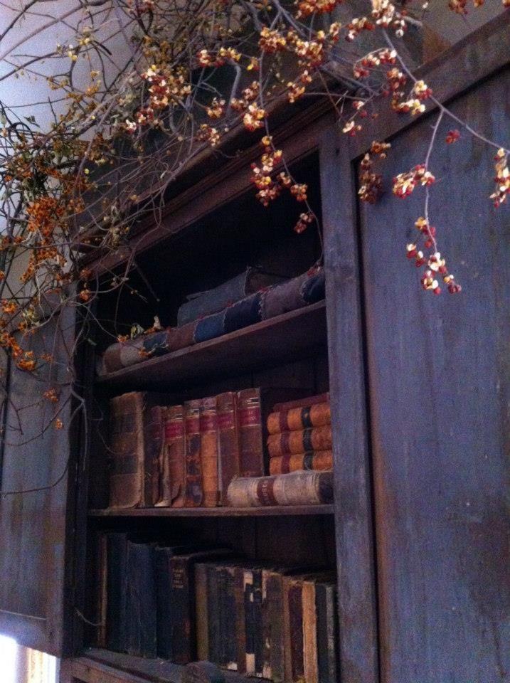 old books & bittersweet