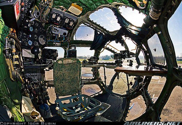 Navigator`s cocpit - Antonov An-30