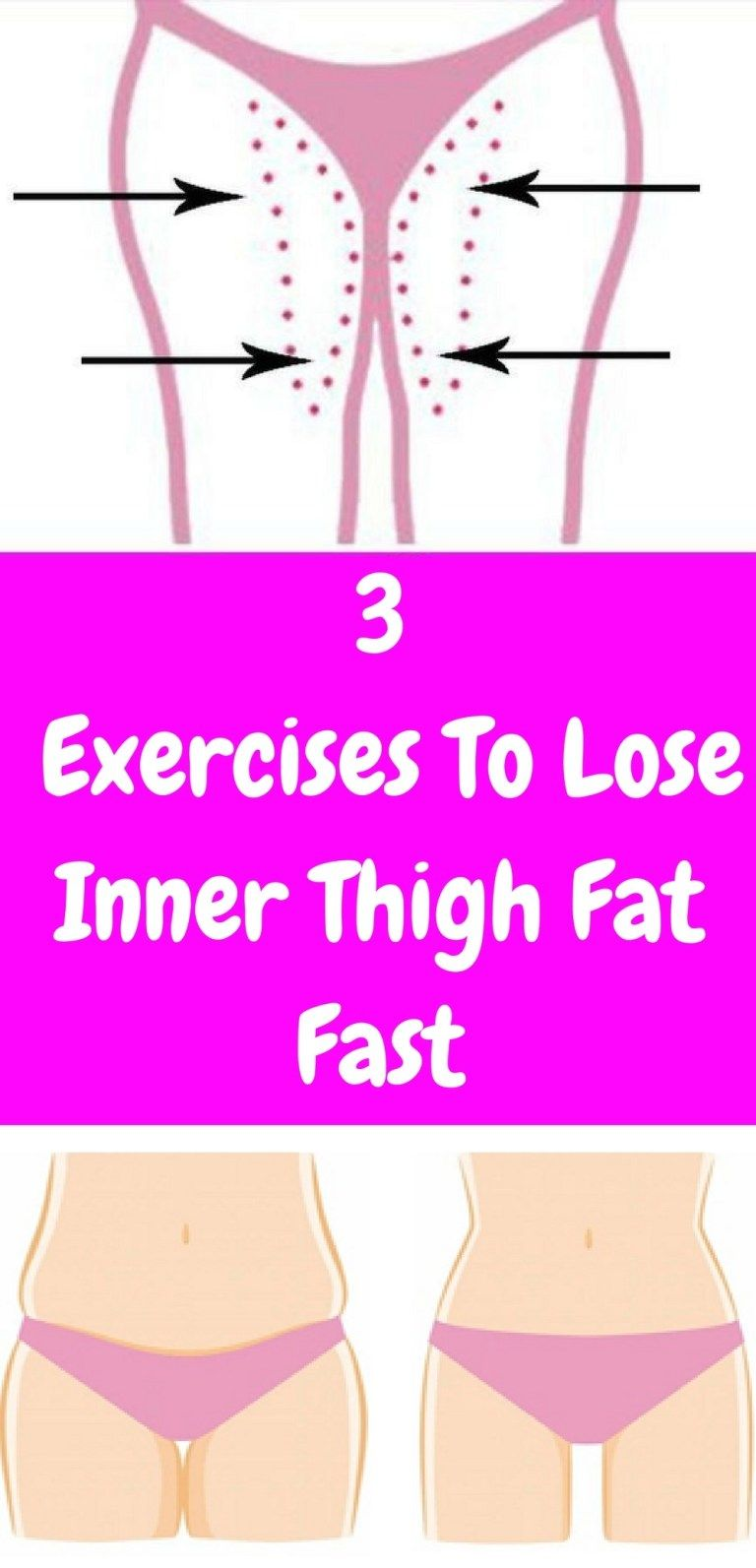 3 Effective Exercises To Lose Inner Thigh Fat Fast Hip And Healthy
