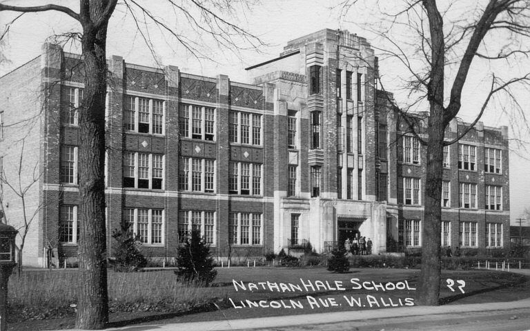 West Allis History Pictures Nathan Hale Hs Nathan Hale High