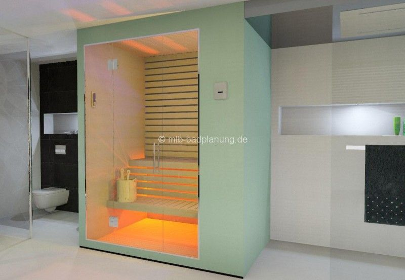 bad mit sauna hier eine badplanung eines kunden. Black Bedroom Furniture Sets. Home Design Ideas