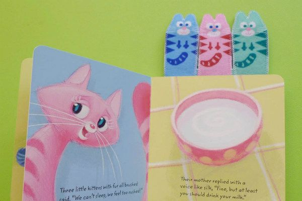 3 Little Kittens Felt Finger Puppets Felt Puppets Finger Puppet Patterns