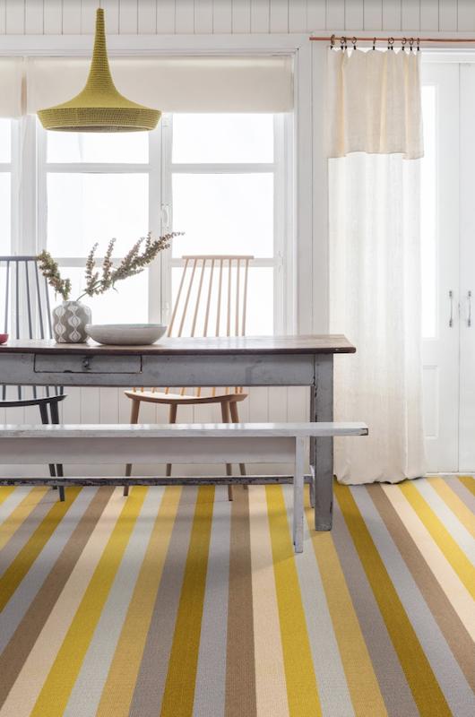 Margo Selby Stripe Sun Whitstable Carpet Alternative