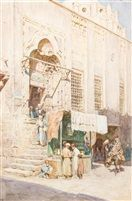 Walter Frederick Roofe Tyndale  -  cairo marketplace