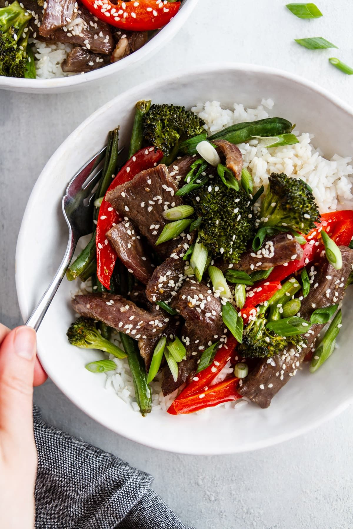 Sheet Pan Mongolian Beef and Vegetables images