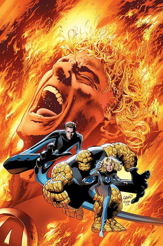 Les 4 Fanstatique Fantastic Four Marvel Marvel Comics Art Fantastic Four