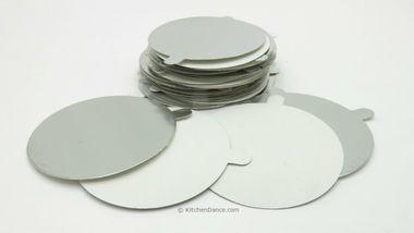 Board Lids for 4 oz Foil Cups - #L1400