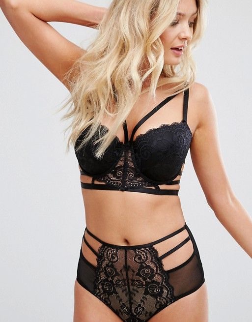 Popular For Sale FULLER BUST Florence Strappy Lace Moulded Underwire Bra - Blush Asos Extremely Sale Lowest Price 7Qq89wDrn