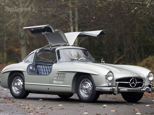 1955 Mercedes 300sl Gullwing Auctioned For 4 62 Million With