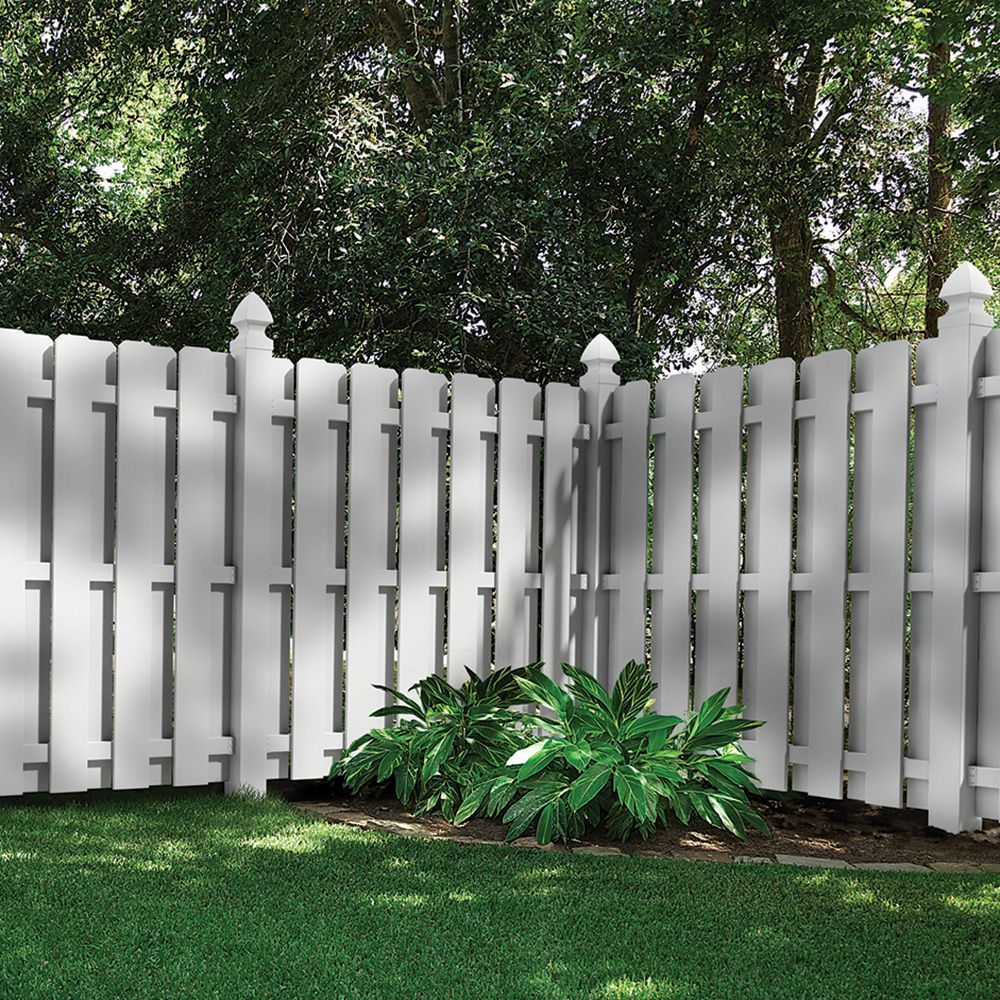 Shadowbox 6x6 Vinyl Fence Panel Vinyl Fence Freedom Outdoor Living For Lowes Garden Fence Panels Small Backyard Landscaping Privacy Fence Designs