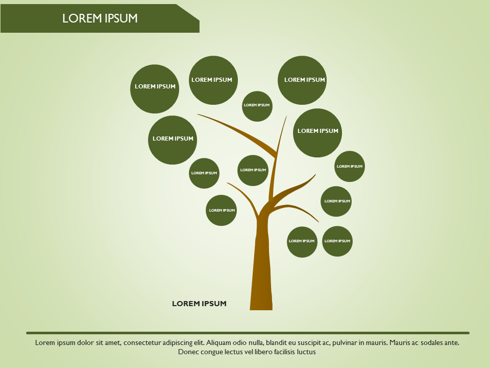 powerpoint tree