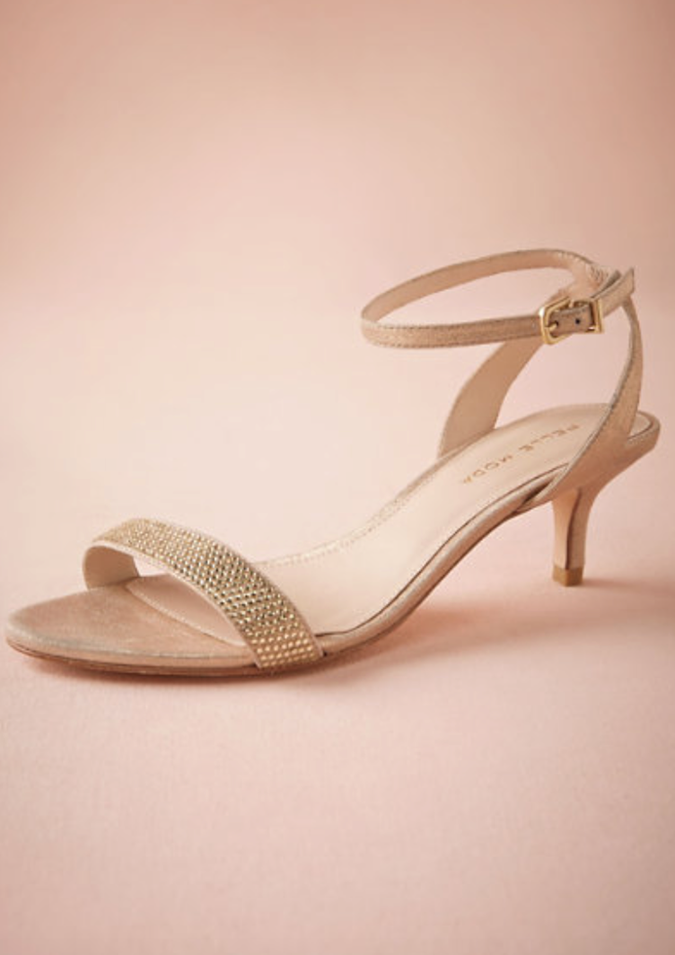 Five Pairs Of Bridal Shoes We Love | We, Shoes and Low heel bridal ...