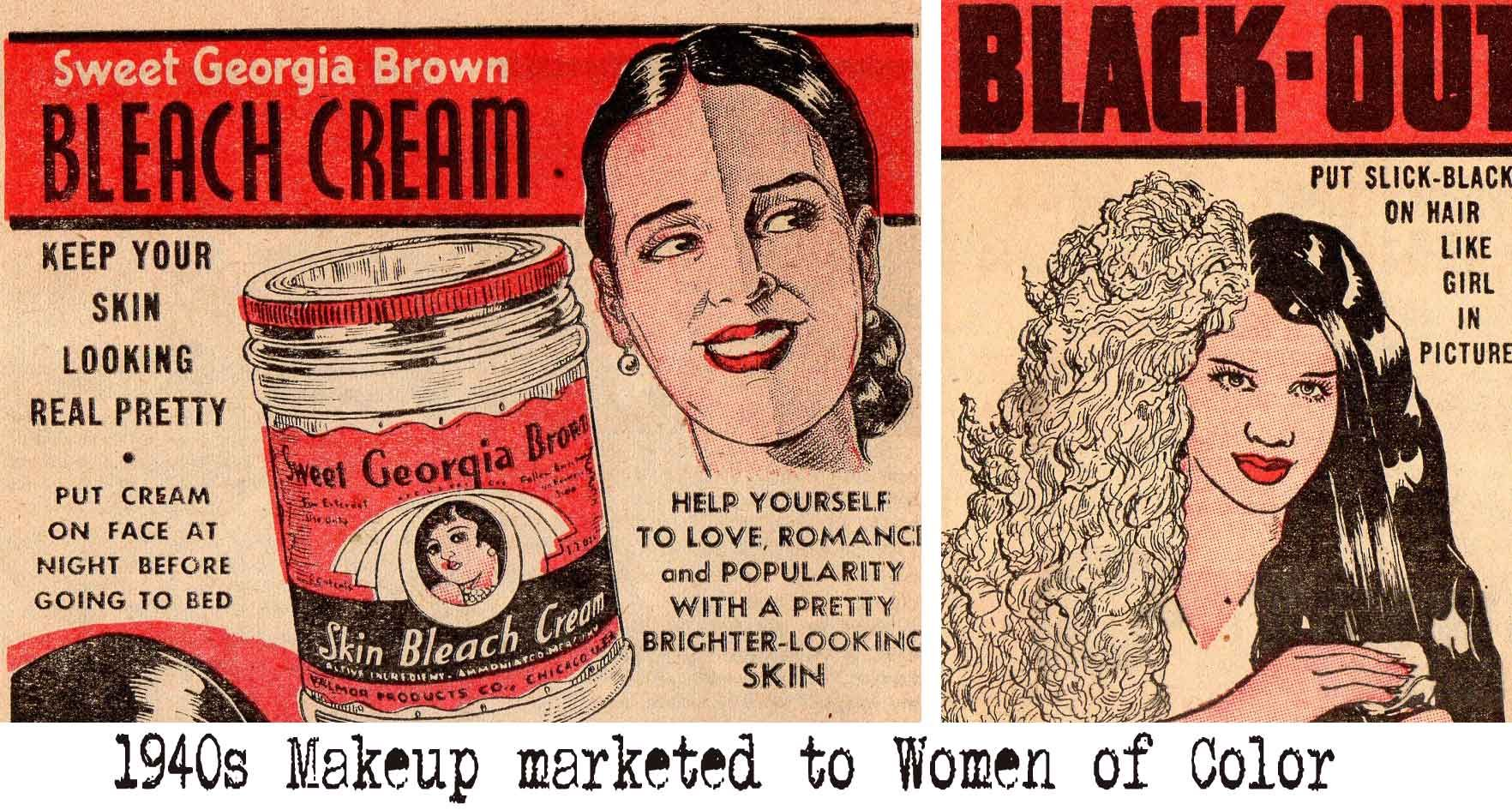 Makeup For African American Women In The 1930s And 1940s African American Makeup African American African American Women