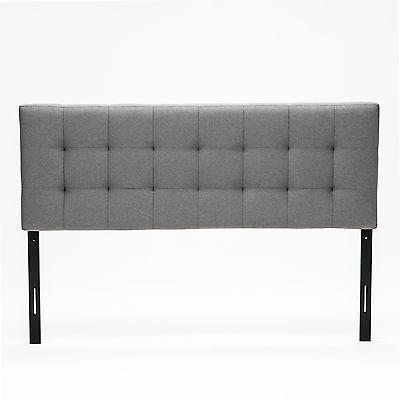 Grey Queen Size Upholstered Linen Headboard Deep Button Tufted Bedroom Furniture https://t.co/mcBBXnua4e https://t.co/frefkISVkF