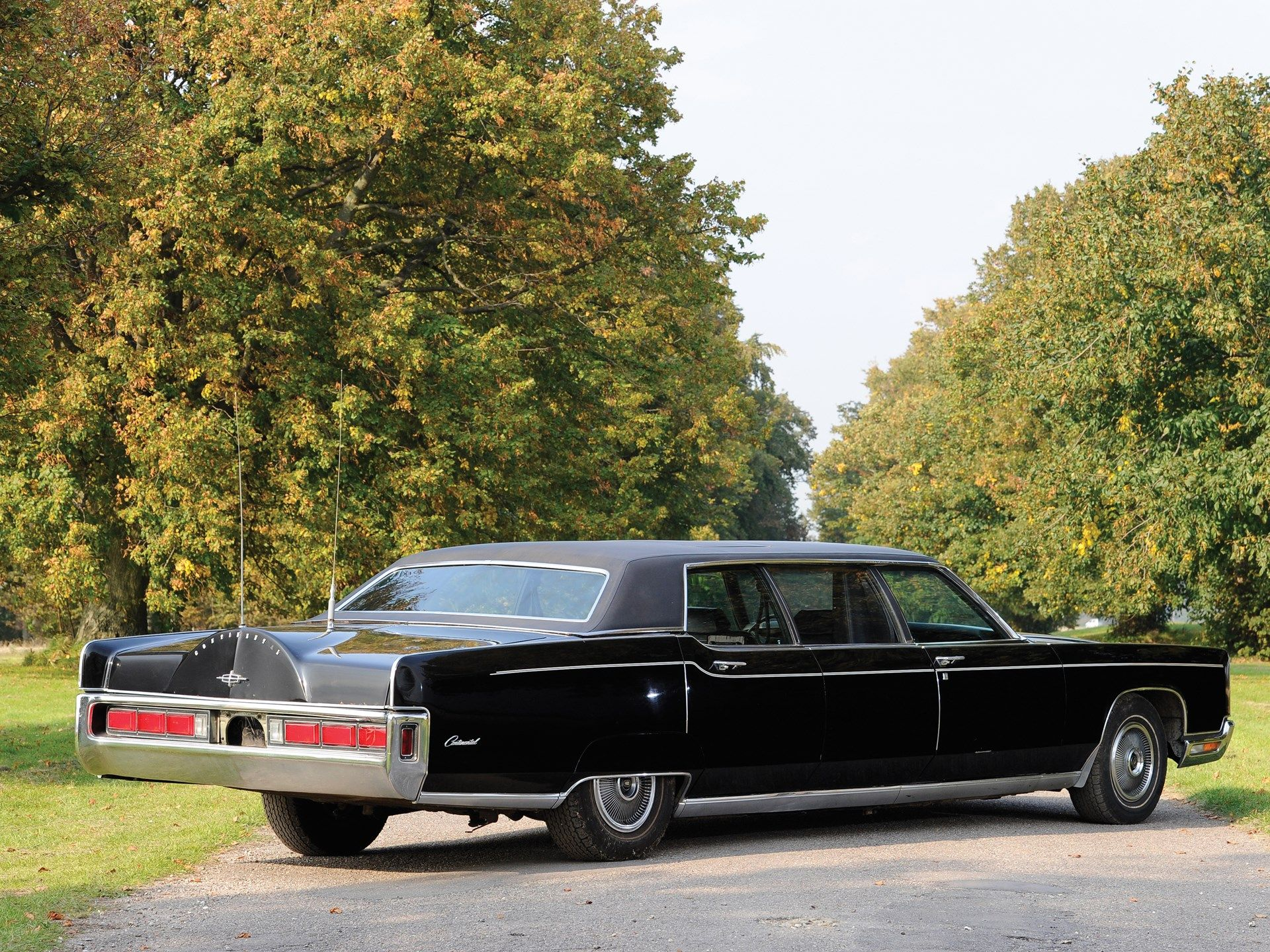 1972 Lincoln Continental Town Car Stretch Limousine By Phaeton Coach