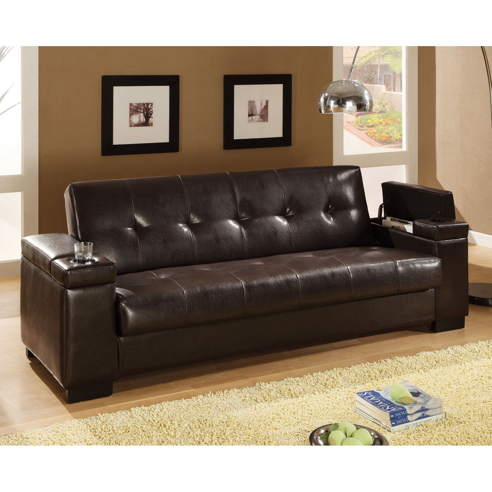 Coaster bingen convertible sofa products pinterest