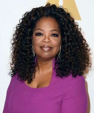 Oscar Nomination Oprah Winfrey Selma Movie Producer Actress Icon Redcarpet St Curly Crochet Hair Styles Crochet Hair Styles Celebrity Beauty