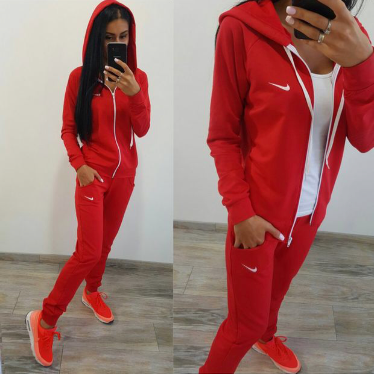 Nike Suit Tracksuit Women Nike Outfits Sports Jackets Women