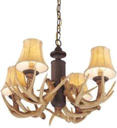 Monte Carlo Mc116 Antler Mini Chandelier Install As Fan Light Kit Or As A Mini Chandelier Includes 3 Chai Antler Lights Fan Light Kits Ceiling Fan With Light
