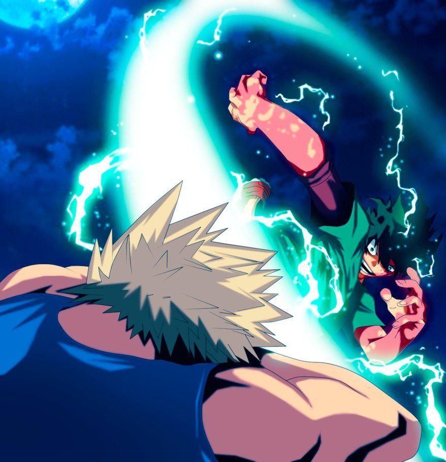 My Hero Academia Midoriya Vs Bakugou By Gevdano My Hero Hero Academia Characters Anime