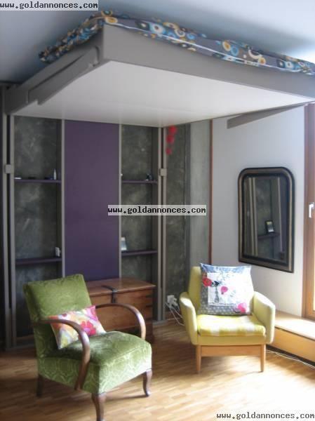 lit au plafond ceilingbed lits escamotables pinterest lit lit plafond et lit escamotable. Black Bedroom Furniture Sets. Home Design Ideas
