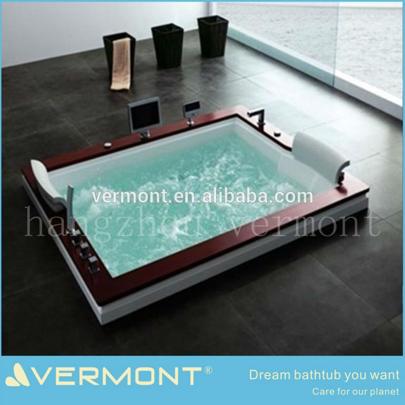 Unique double multi-functional bathtub, View Unique double multi-functional bathtub, Vermont Product Details from Hangzhou Vermont Deluxe Materials Co., Ltd. on Alibaba.com