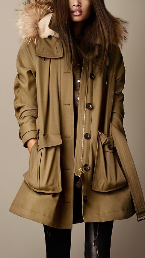 burberry parka autumn shopping 2013 pinterest mantel jacken und damen. Black Bedroom Furniture Sets. Home Design Ideas