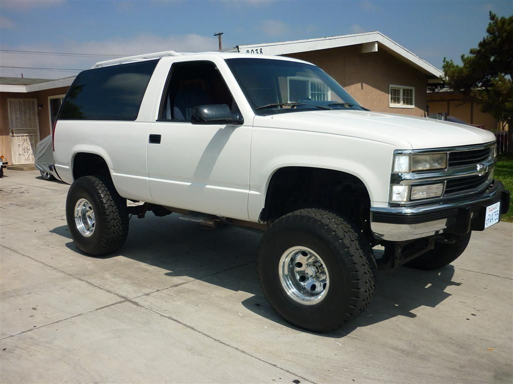 1993 Chevy Tahoe 2 Door 4x4 For Trade Or Sale 6 Lift 35 Tires