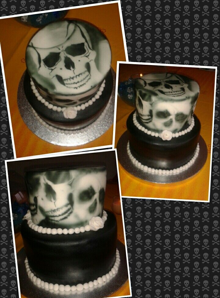 Roses, skulls and chocolate cake... what a girl wants ;-)