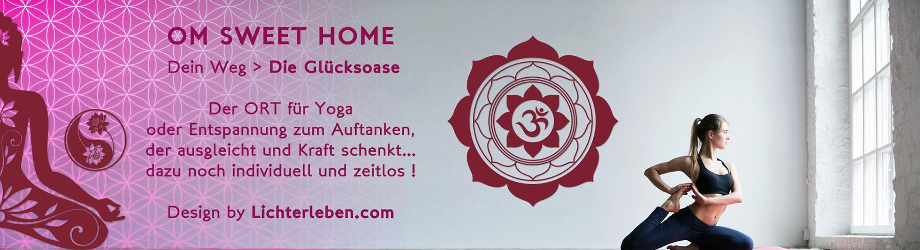 Wandtattoo Design Wandtattoo Design Shop Unser Neuer Wordpress Shop Yogainspiration