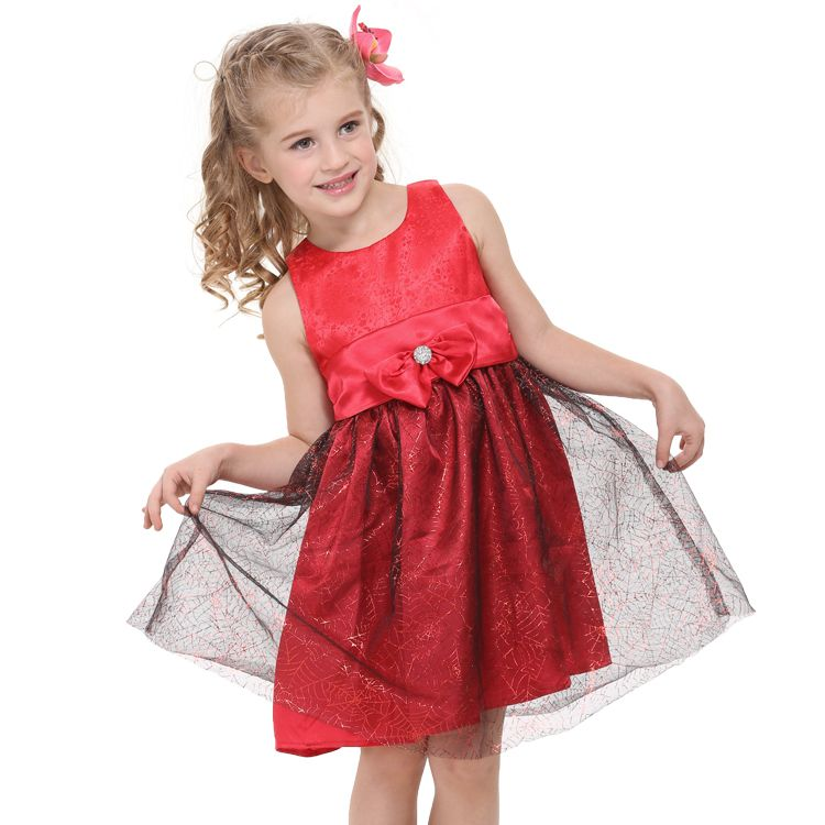 48243fe58d366 Dresses For 8 Year Old Girls | 1pc Girls chiffon lovely princess ...
