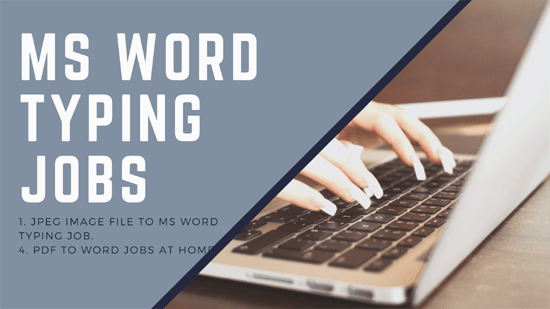 Hiring Computer Typist Salary 25000 Typing Jobs Online Typing Jobs Typing Jobs From Home