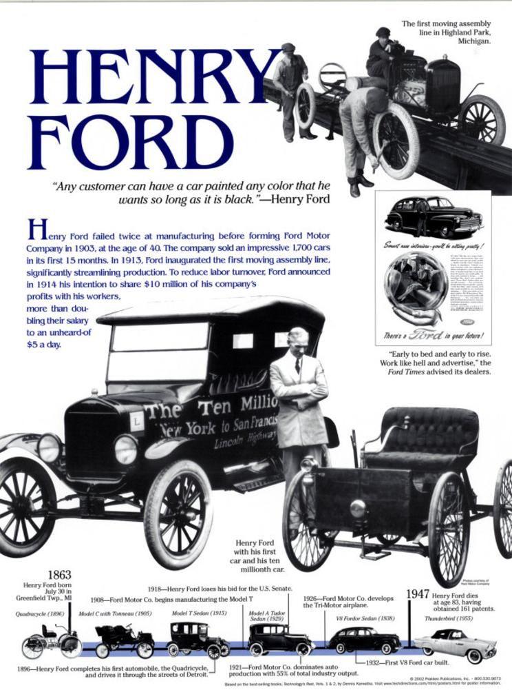 Nikola Tesla Photo Allposters Com Henry Ford Ford Car