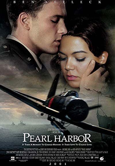 Mejora del fotomontaje realizado con photoshop sobre el cartel de la película Pearl Harbor. #tipo1314