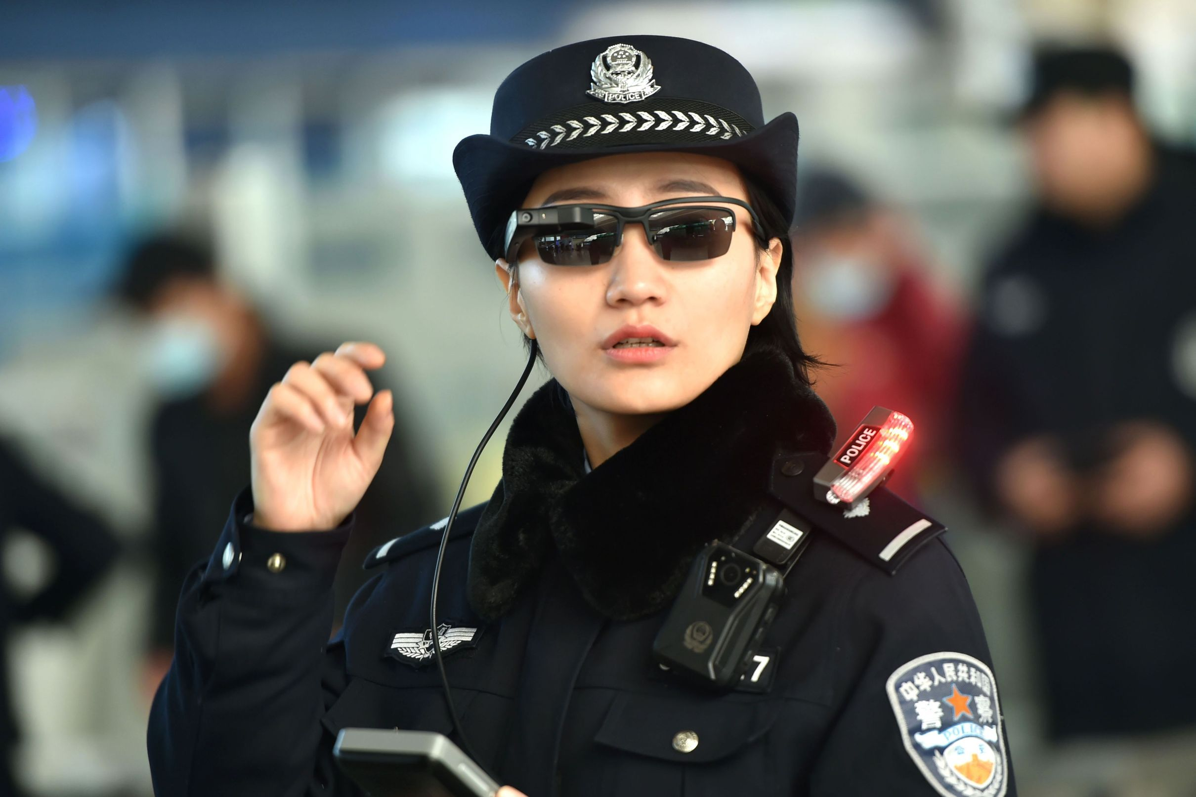 Close Protection Plain clothes special forces of the