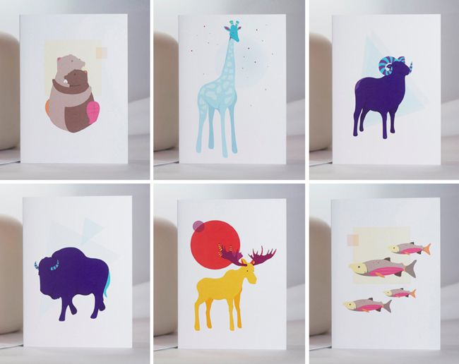 cards and prints by Vancouver designer/illustrator Mélanie ...