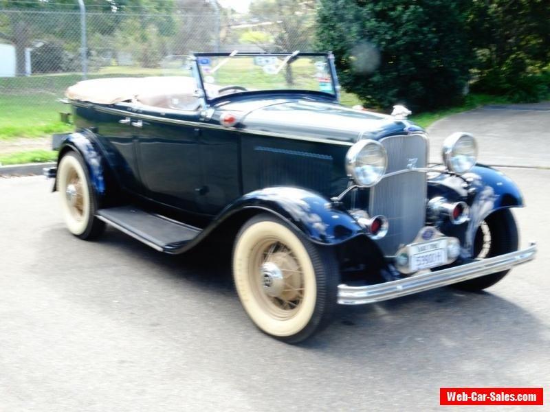 1932 Ford Deluxe Sports Phaeton #ford #forsale #australia | Cars for ...