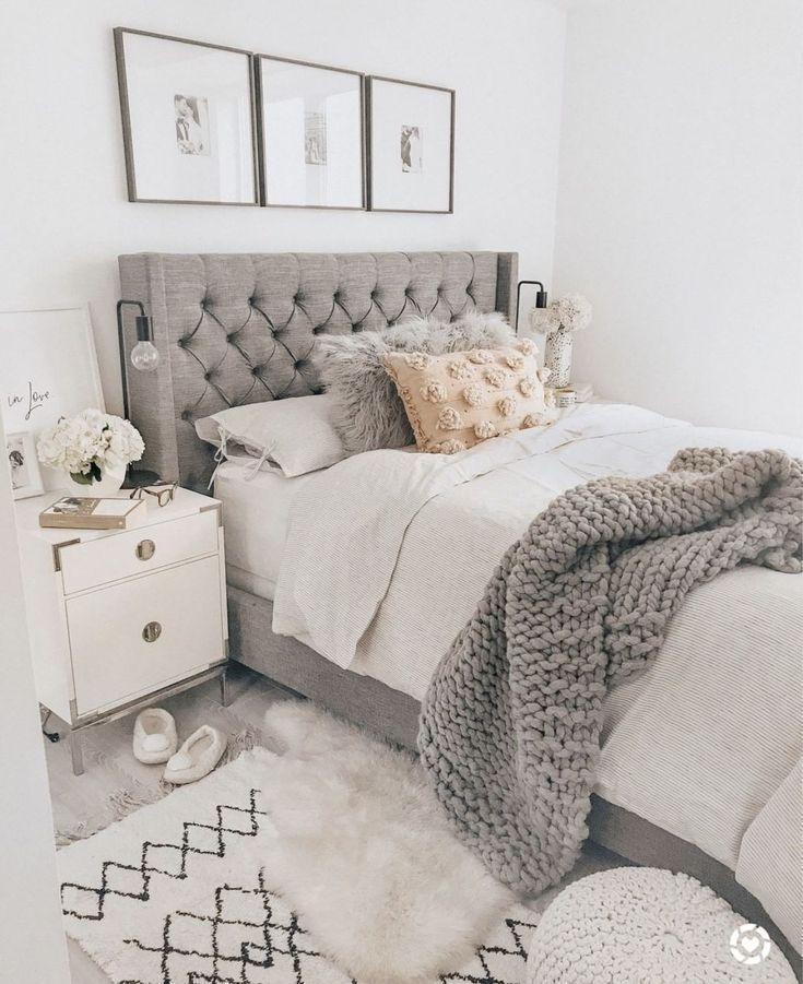 Photo of 25+ Most Popular Farmhouse Bedroom Ideas for 2019 #designfürzuhause #Bedroom #F…