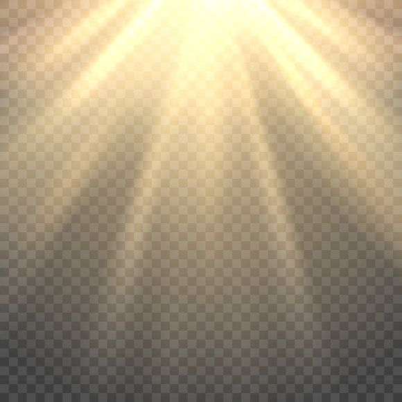 Sunlight On Transparent Background By Vectortatu On Creativemarket Transparent Background Photoshop Lighting Blurred Background Photography