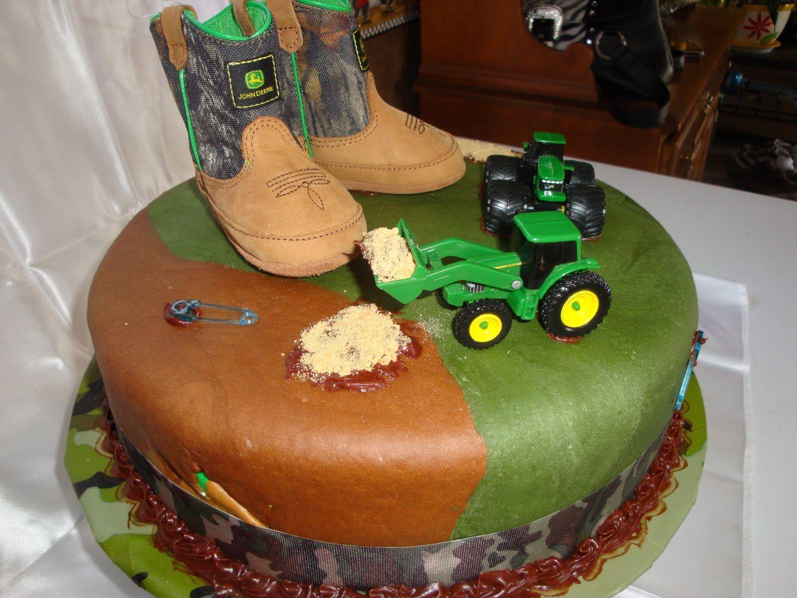 Camouflage Baby Shower | McKeeu0027s Cakes: Camo Cake, John Deer Baby Shower  Cake