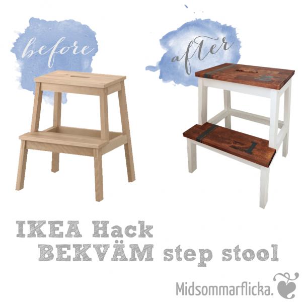 ikea hack bekv m tritthocker diy furniture pinterest hocker ikea und bekv m. Black Bedroom Furniture Sets. Home Design Ideas