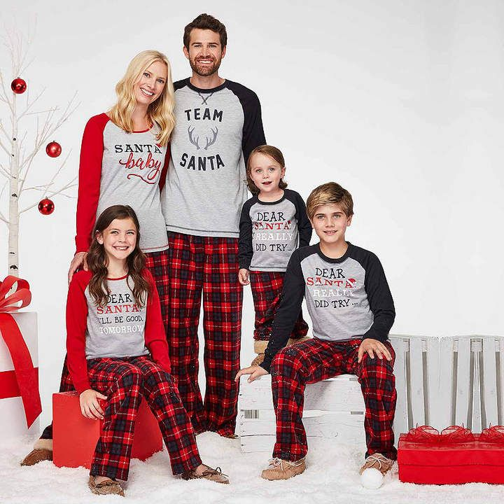 HOLIDAY  FAMJAMS Holiday Famjams 2-pc. Pattern Pant Pajama Set-Women s   Famjams pc Holiday 1c0efb87c