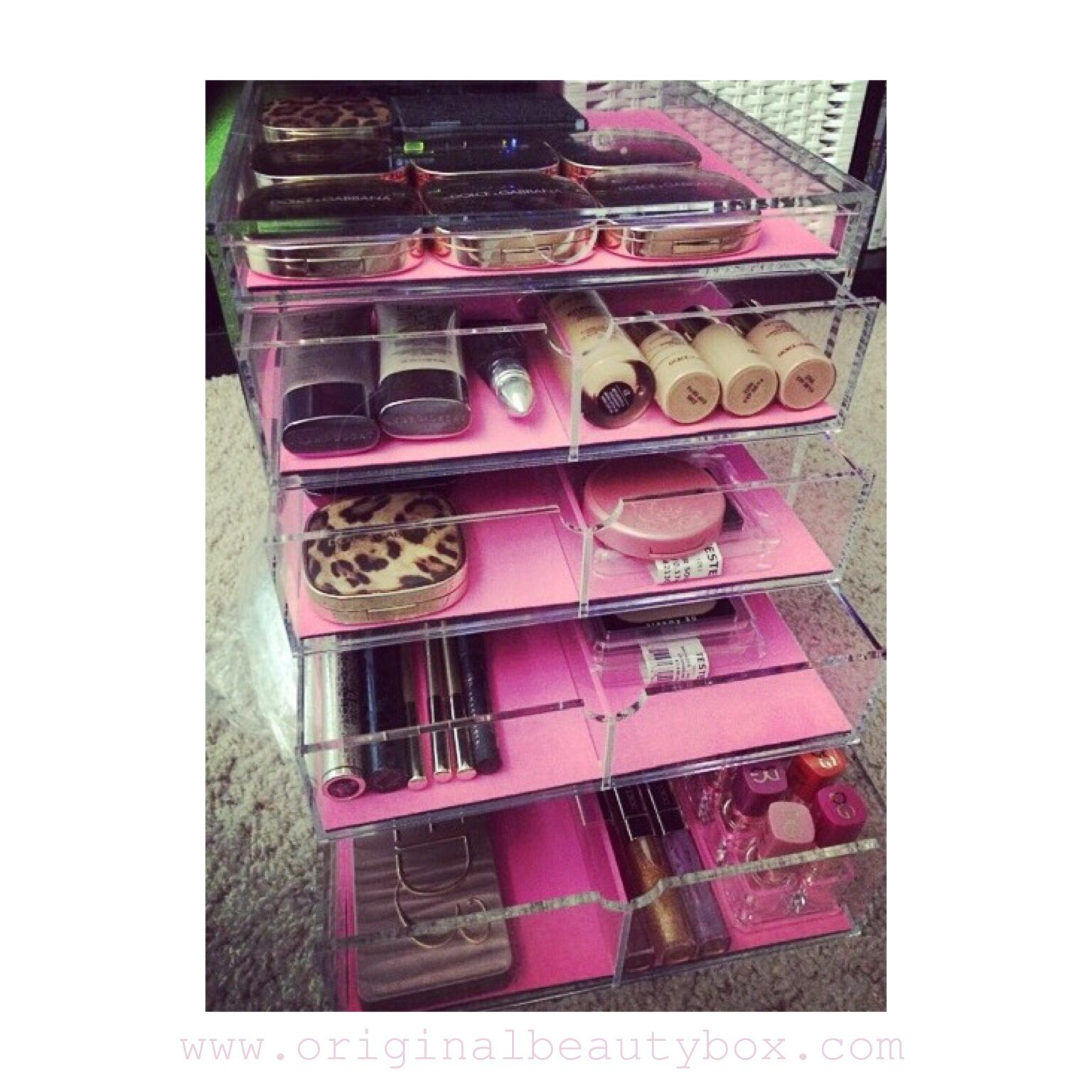 Makeup Storage Wwworiginalbeautyboxcom Made In The Usa