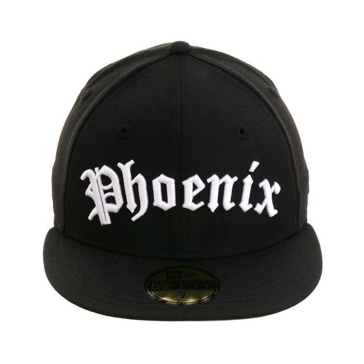 d8848269ee6bde New Era 59Fifty Phoenix Suns Old English Hat - Black | Phoenix Suns ...