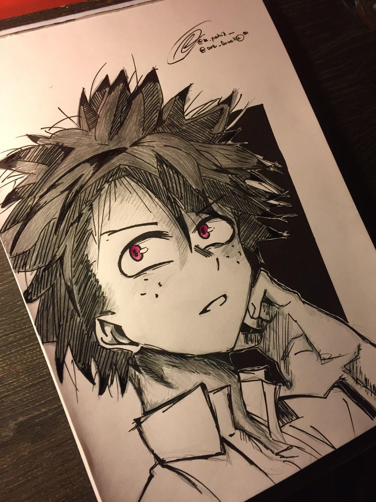 My Hero Academia Bnha Villain Izuku Midoriya Deku My Hero Academia My Hero My Drawings