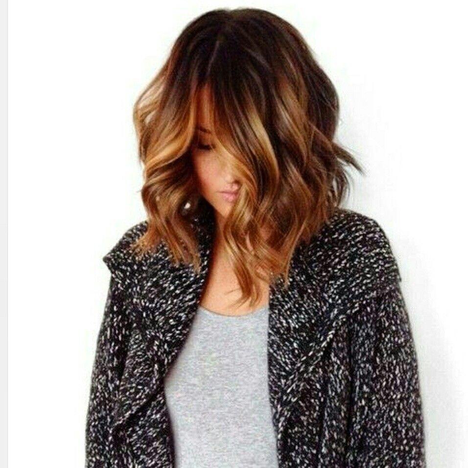 Warm balayage hair pinterest balayage hair coloring and