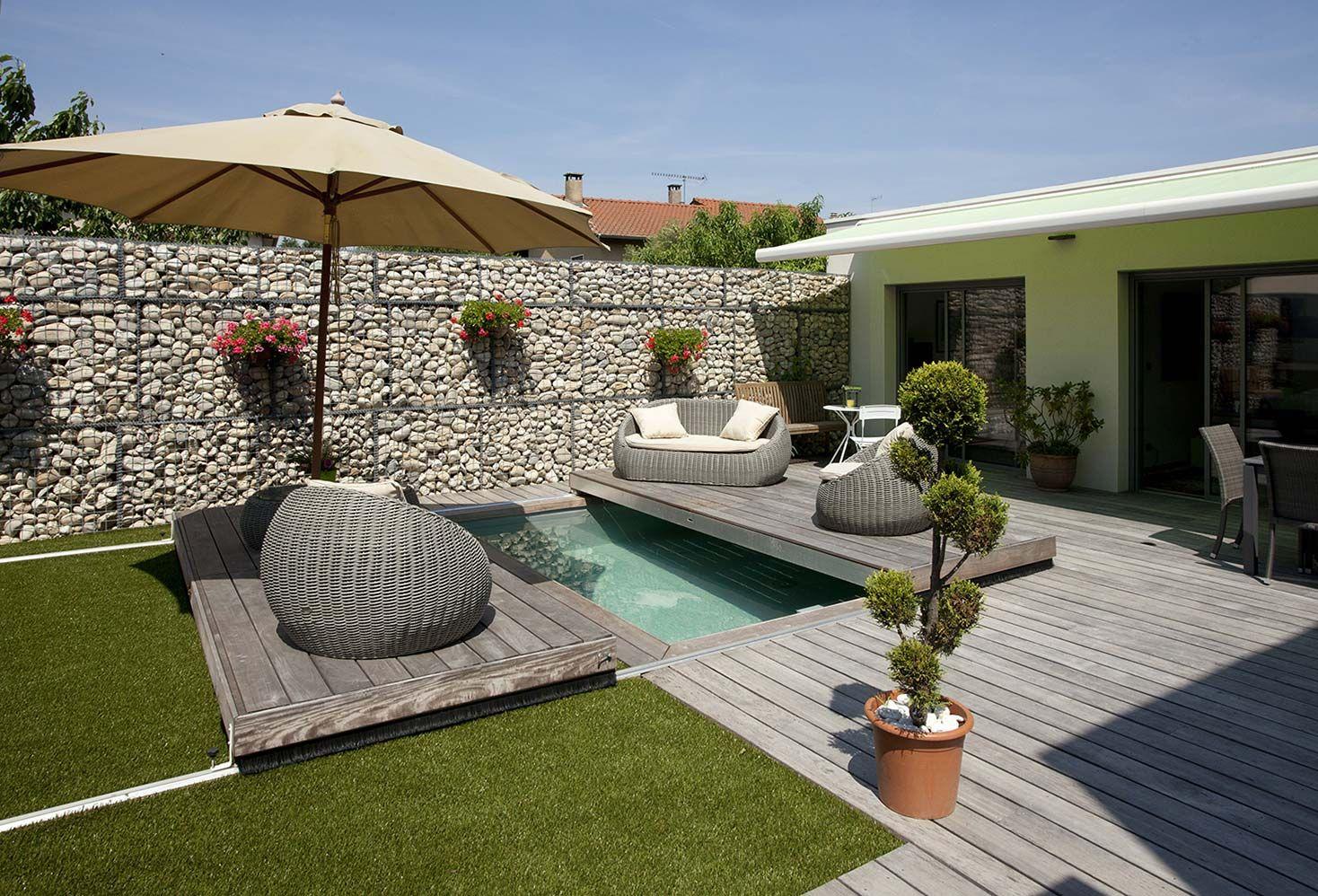 Paradis aquatique avec terrasse nager et piscines for Prix piscine terrasse